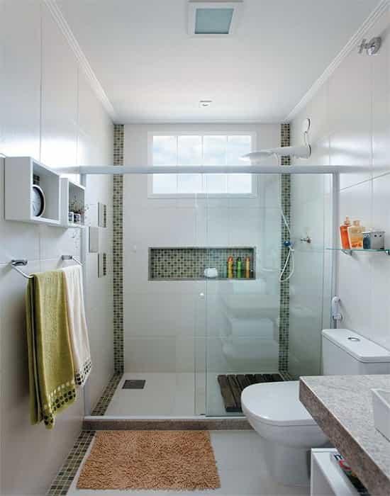 Box para Banheiro Frontal de Correr Vidro Incolor