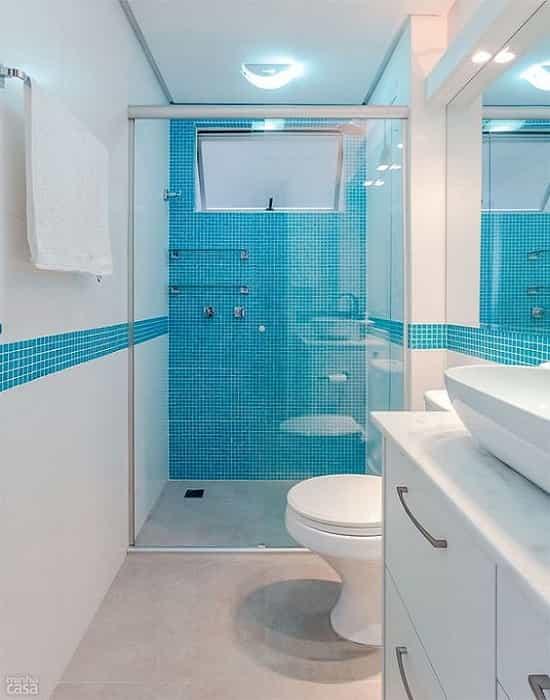 Box para banheiro vidro temperado, Vidro Temperado de 8 mm processado de acordo com os padrões de segurança do inmetro.