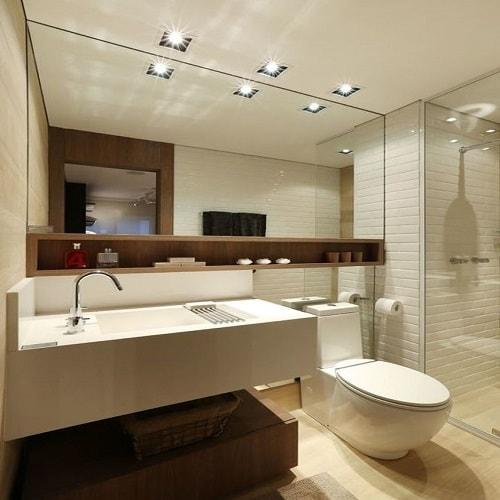 Espelho Banheiro 4 mm, lapidado ou bisotado, fixação com fixa espelho ou parafusado, espelhos para banheiro, salas e ambientes, garantia total contra umidade e oxidação.