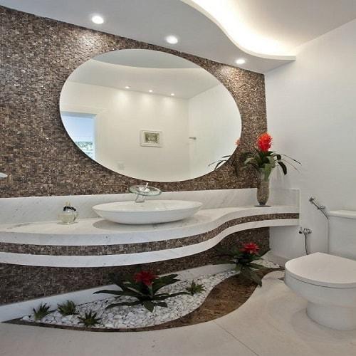 Espelho de lavabo 4 mm, lapidado ou bisotado, fixação com fixa espelho ou parafusado, espelhos para banheiro, salas e ambientes, garantia total contra umidade e oxidação.