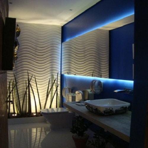 Espelho para banheiro de 4 mm, ótimos preços a pronta entrega. Perfis de acabamento em alumínio várias cores com qualidade total.