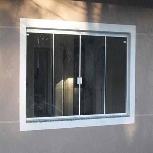 Janela de vidro blindex temperado de 8 mm, com ótimos preços a pronta entrega ou com entrega programada. Dubox SP,
