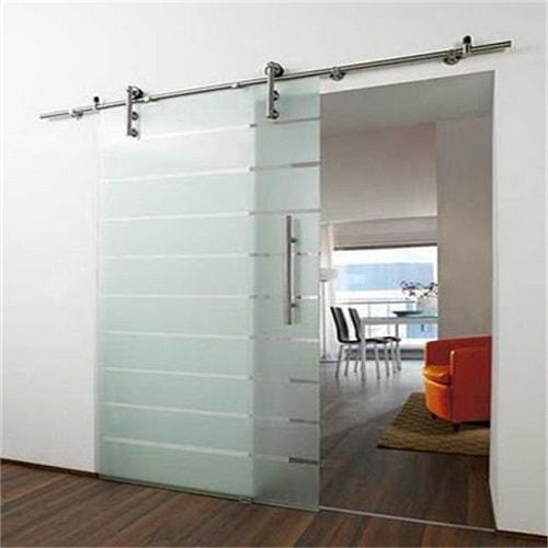 Porta jateada de vidro temperado de 8 mm, com ótimos preços a pronta entrega ou com entrega programada. Dubox SP,
