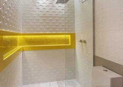 Box de banheiro estilo para ducha com peça fixa. Box de vidro a pronta entrega com preços promocionais e várias opções de perfil de acabamento.