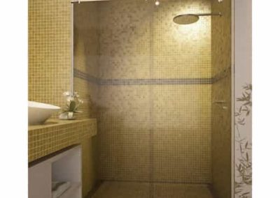 Box para banheiro modelo elegance 02 folhas